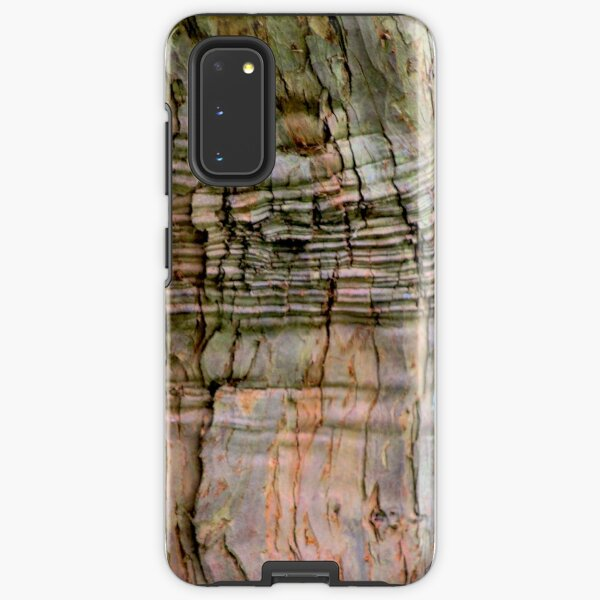 Yew tree bark texture Samsung Galaxy Tough Case