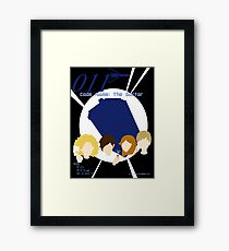 Code Name: The Doctor Framed Print