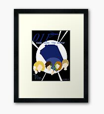 Code Name: The Doctor Alternative Poster Framed Print