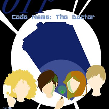 Code Name: The Doctor Alternative Poster by ashleydash20