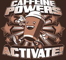 Caffeine Powers... Activate! (Print Version) by Nathan Davis