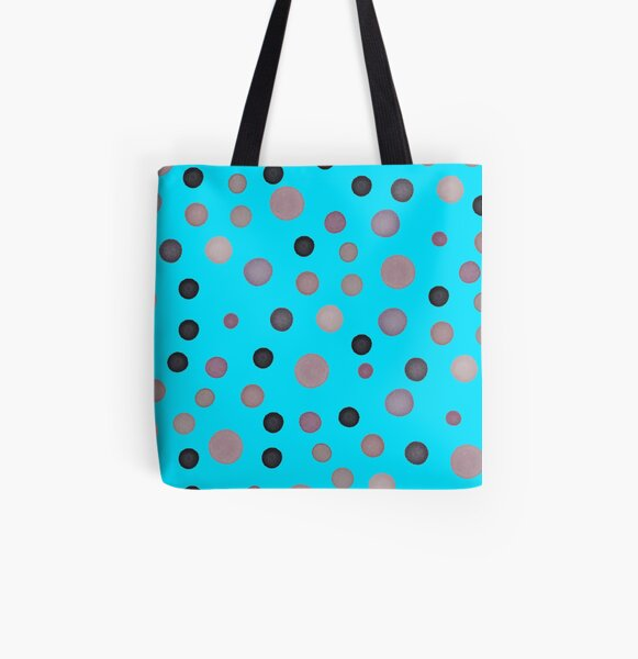 Colored spots All Over Print Tote Bag