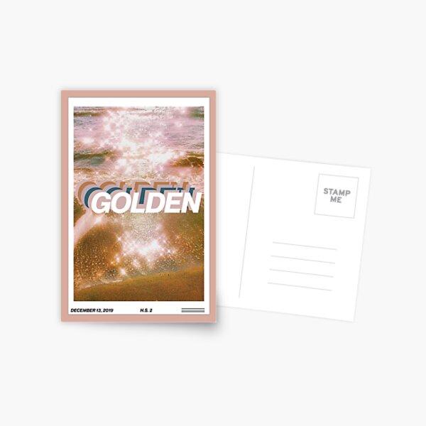 golden harry styles magazine cover edit Postcard
