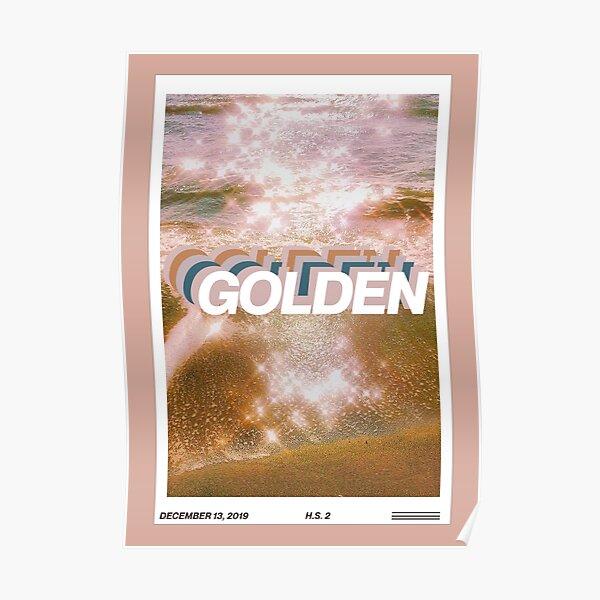 couverture du magazine golden harry styles modifier Poster