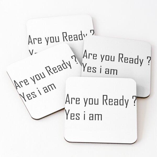 Motivation Lines Coasters (Set of 4)