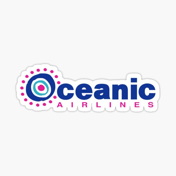 Oceanic Airlines Sticker