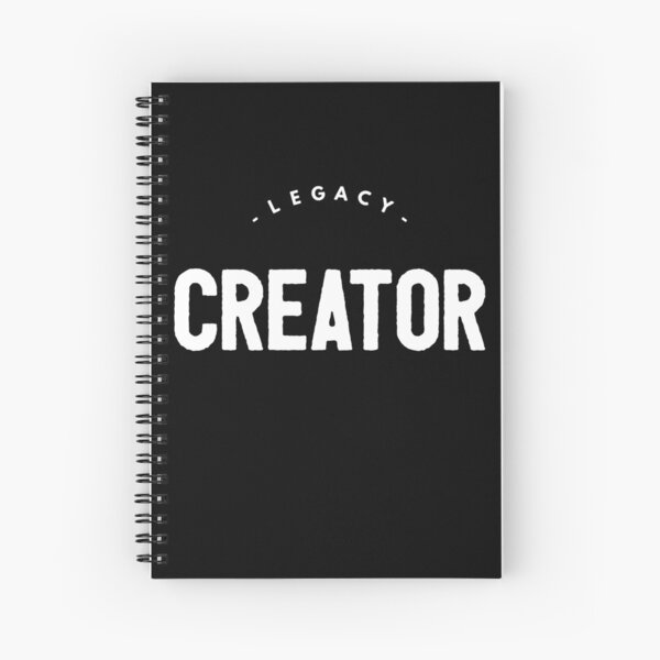 Legacy Creator | Real Estate and Realtor T-Shirts Spiral Notebook