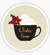 Winter Time Sticker