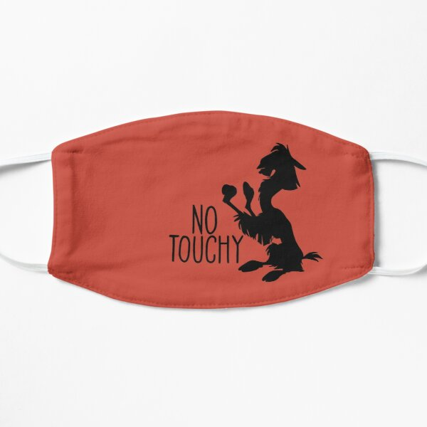 No Touchy Flat Mask