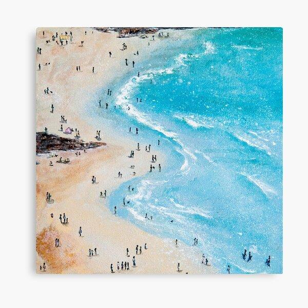 Crantock Beach, Newquay Cornwall Art Canvas Print