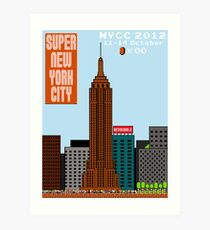 Super New York Comic Con 2012 Art Print