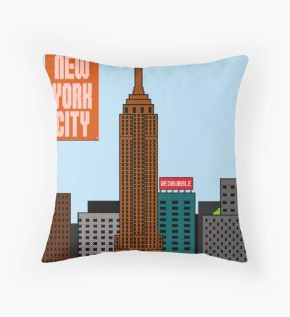 Super New York Comic Con 2012 Throw Pillow