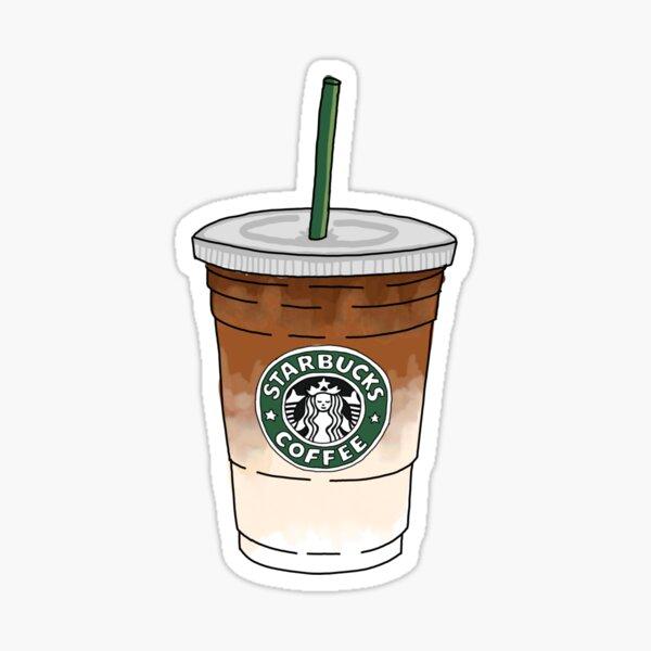 Starbucks Macchiato Pegatina