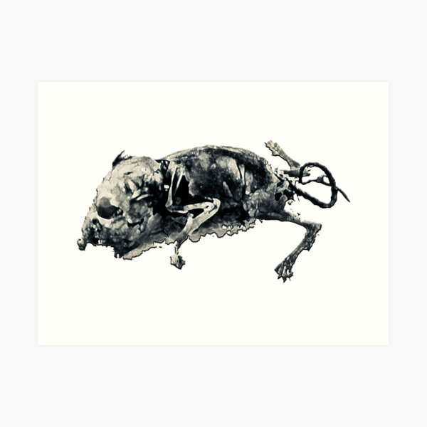 PLAGUE MOUSE Art Print