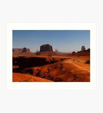 Monument Valley, Utah, USA Art Print