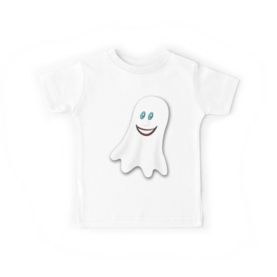A Spooky Ghost T-shirt, etc. design by Dennis Melling