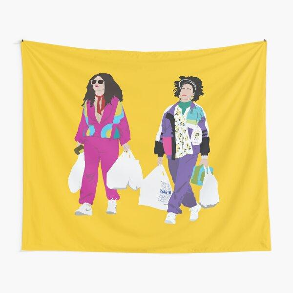 Broad City Ilana and Abbi Retro Tapestry