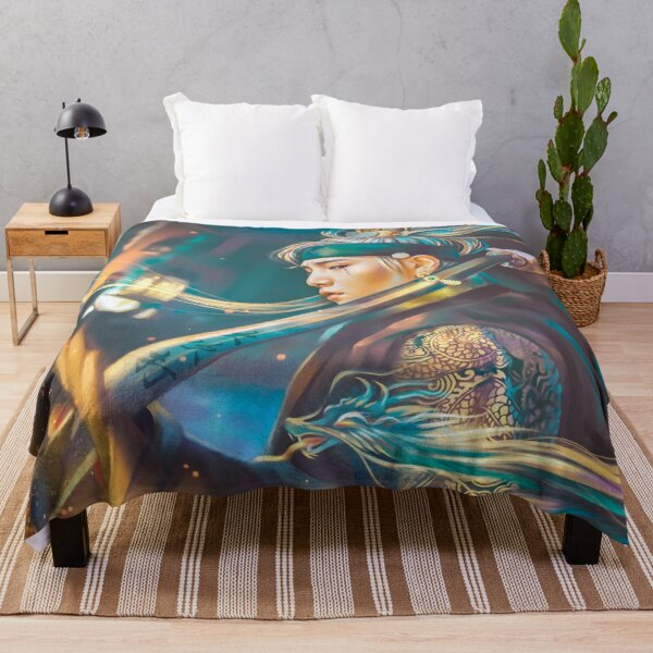 Agust D Daechwita Throw Blanket