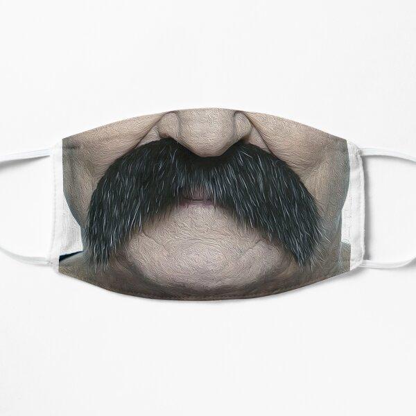 Moustache Masque sans plis