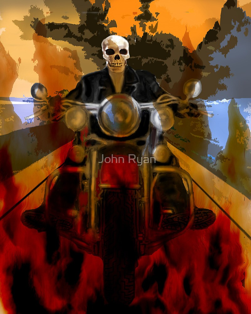Death rides a pale horse by John Ryan