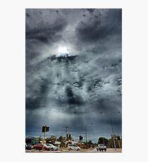 Rays Of Light  Photographic Print