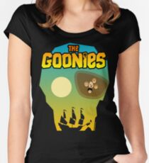 The Goonies Women's Fitted Scoop T-Shirt