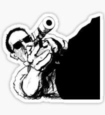Gunman Sticker