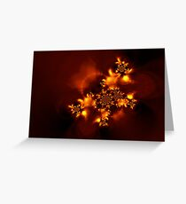 Fire butterfly Greeting Card