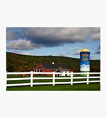 Working Farm Photographic Print