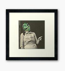 Emerald Wife Framed Print