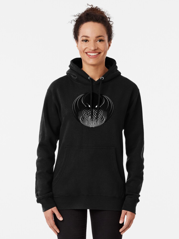 Alternate view of Cthulhu Pullover Hoodie