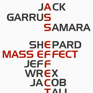 The Names of Mass Effect by Benners