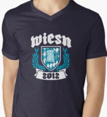 Wiesn 2012 Mens V-Neck T-Shirt