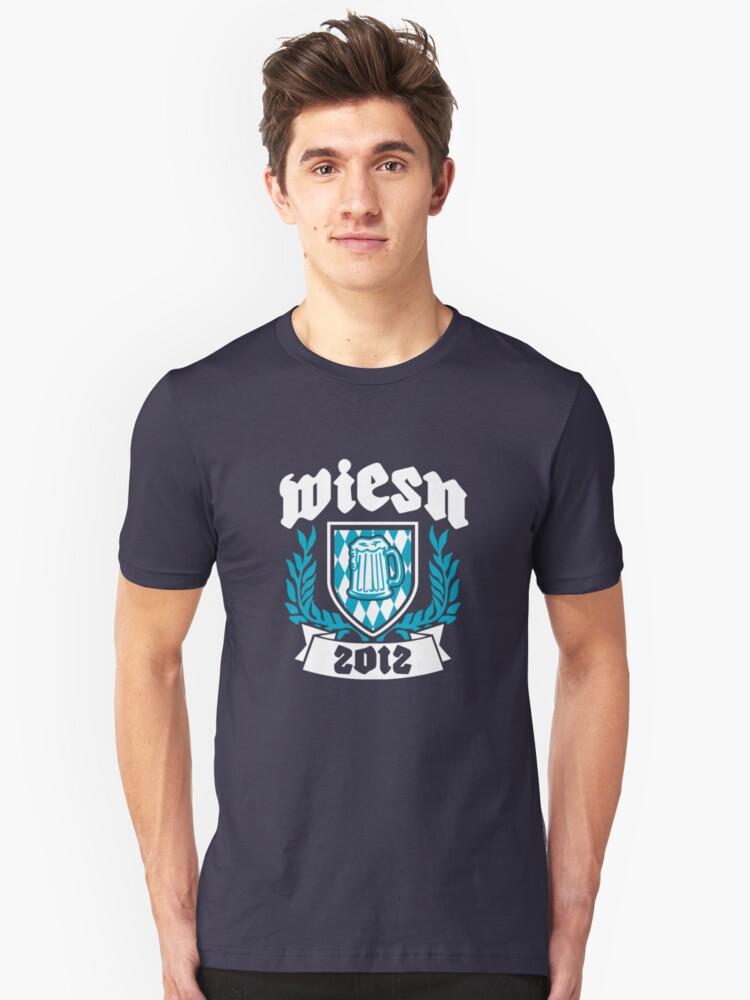 Wiesn 2012 Unisex T-Shirt Front