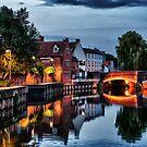 Fye Bridge, Norwich by Ruski