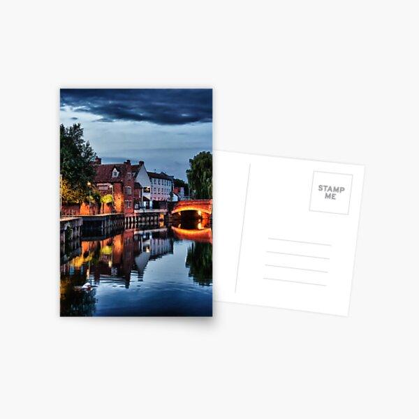 Fye Bridge, Norwich Postcard