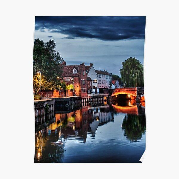 Fye Bridge, Norwich Poster