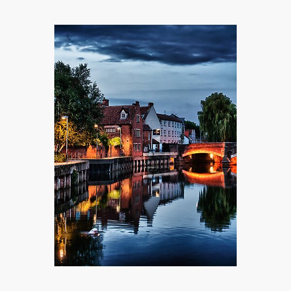 Fye Bridge, Norwich Photographic Print
