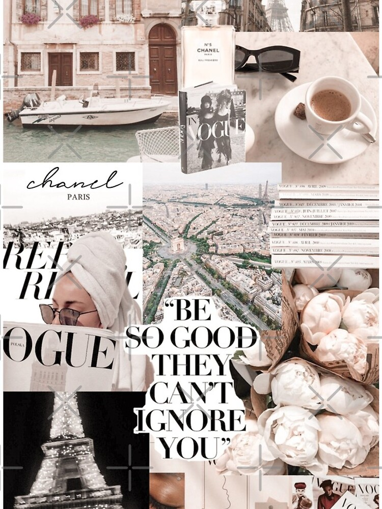PARISIAN MORNINGS VOGUE COLLAGE by abbymoriartyy
