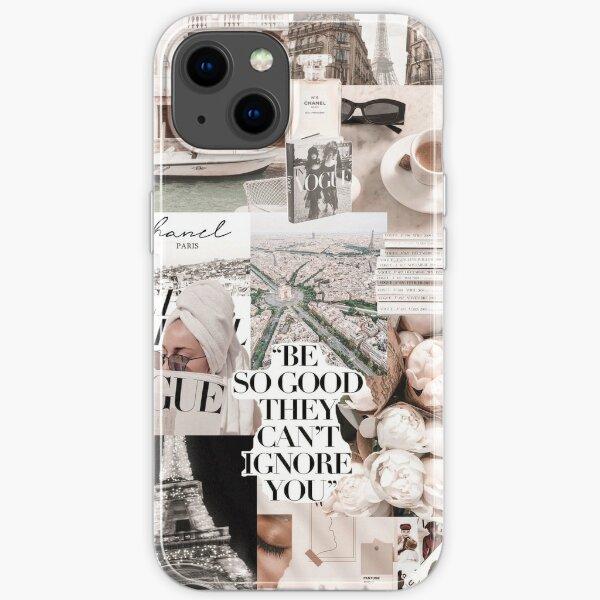 PARISIAN MORNINGS VOGUE COLLAGE iPhone Soft Case