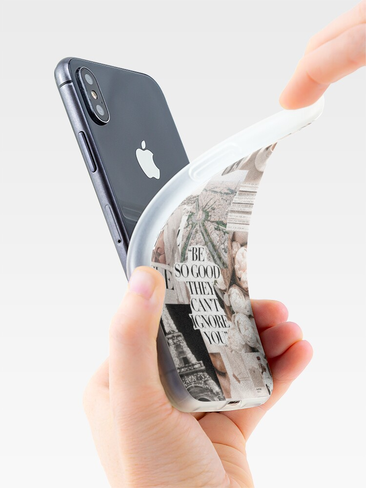 Alternate view of PARISIAN MORNINGS VOGUE COLLAGE iPhone Case & Cover