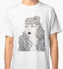 Retro girl Classic T-Shirt