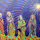 365 - THE PILGRIMS - DAVE EDWARDS - COLOURED PENCILS - 2012 by BLYTHART