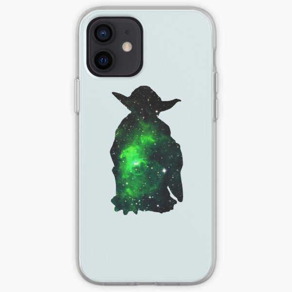 Green serenity iPhone Soft Case