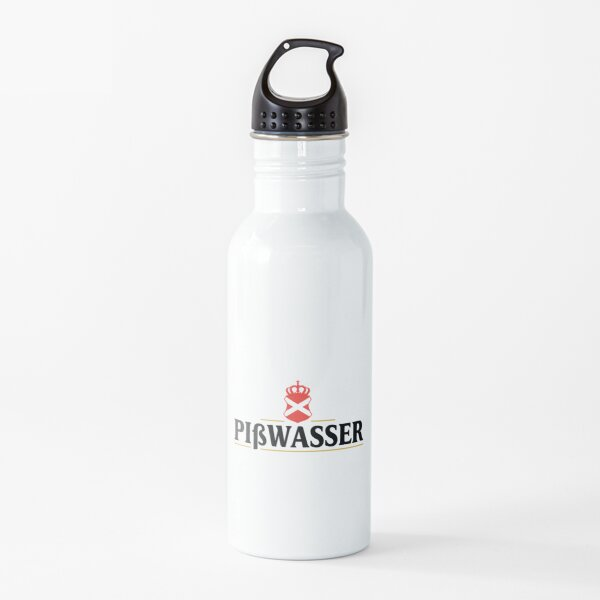 Logotipo de Pißwasser Botella de agua