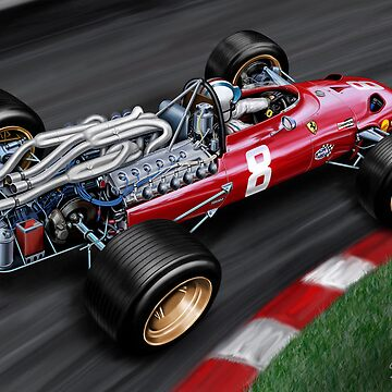 Ferrari 312 Formula One Car by davidkyte