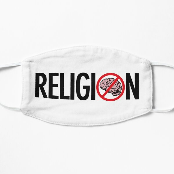 No Brains in Religion Mask