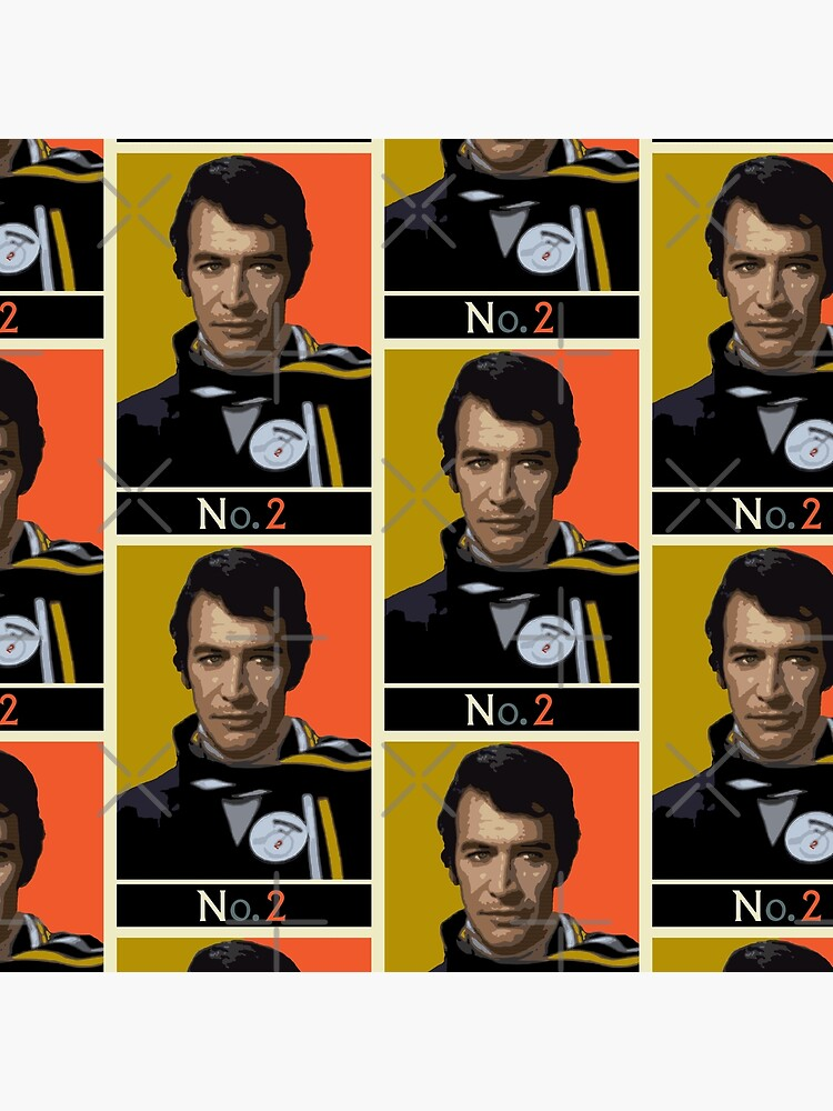 The New No. 2 - Peter Wyngarde by SUCHDESIGN