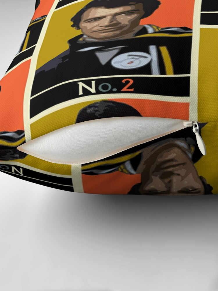 Alternate view of The New No. 2 - Peter Wyngarde Floor Pillow