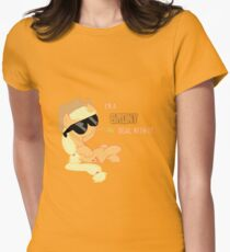 I'm a Brony Deal with it. (Apple Jack) - My little Pony Friendship is Magic Women's Fitted T-Shirt